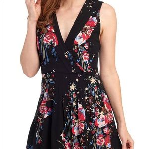 NWT Free People Sleeveless Floral Tunic